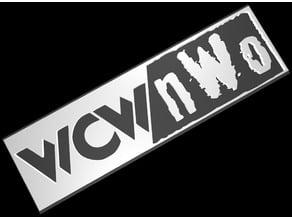 WCW Logo Plate Pack