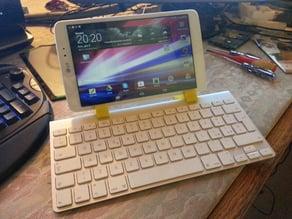 Apple wireless keyboard + LG G 8.3 PAD Holder RELOADED