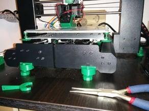 Wanhao Duplicator i3 adjustable feet