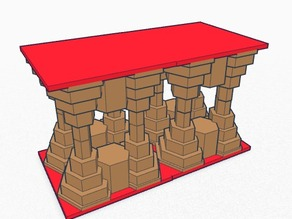 Bridge, Columns, Table