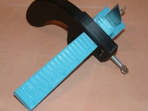 Leather Draw Gauge Tool