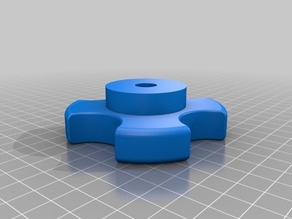 80 mm knob for M10 nut