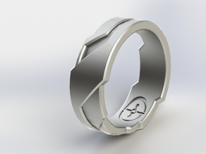 Halo/Tron inspired Ring
