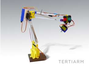 Tertiarm - 3D printed robot arm