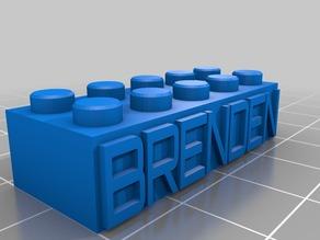 BRENDEN Lego Block