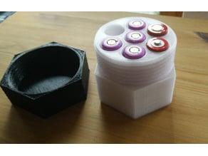 7 x 18650 battery case
