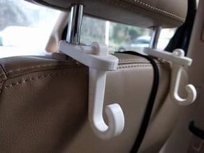 Seatback hook