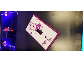 peppa pig light switch cover
