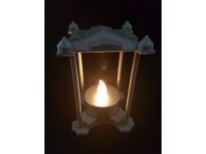 Thought light LED