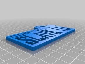 Slave 1.0 Frame Plate (Migbot Prusa i3)