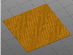 Ornamental infill 5 - carbon fiber