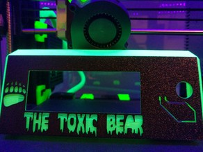 Toxic Bear LCD Cover - for Prusa MK2/2.5/3