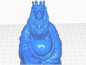 Lion King Buddha