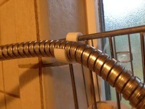 Shower hose clip
