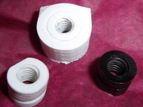 Printable Z Axis Lead Screw Nut and Holder