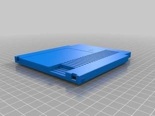 Nes Cartridge (incl. Freecad model)