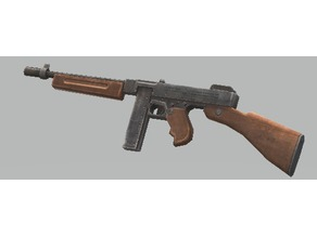 US Thompson M1928 WWII