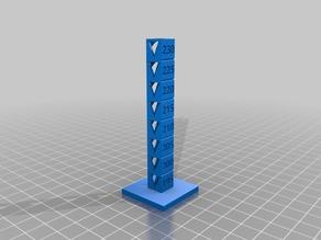 Remixed PLA Temperature Tower