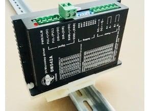 DIN rail Holder 35 mm for electronics 35x120 mm - for DM542