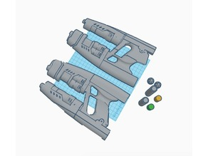Star Lord Vol.2 Element Gun (electronics ready)