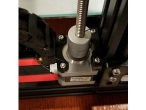 Z-Axis Cable Chain Stepper Mount