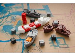 CAS - the modular xyz-cube cargo ship