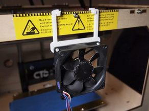 80mm Fan Holder for 3D Printer