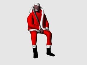 Multi-Color Santa Drake