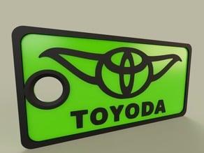 StarWars - YODA - Toyoda - Keychain