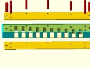 Harmonica Comb