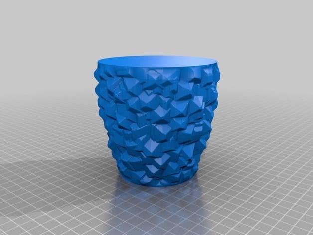 Vase Gems By Pmaegerman Thingiverse
