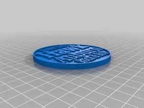 Hawk Auburn Coin