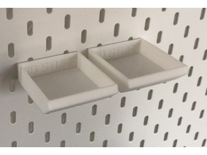 IKEA Skadis - Part Trays- Small