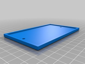 blank plate cover