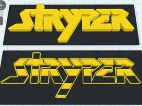 Stryper Logo  (Frame logo)