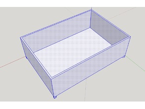 Double-Length Container for Harbor Freight Storage Case (Item 62778)