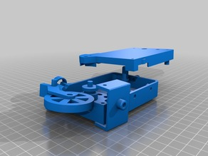 Atmega8A-PU filament monitor with optical encoder for Marlin firmware