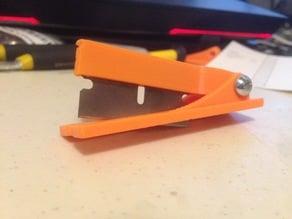 Razor Blade Score Cutting Tool