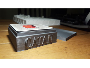 Rivals for Catan -- card game box remixed