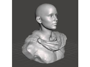 Roman Bust - Helmet Stand