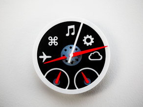 Dashboard Widgets Wall Clock