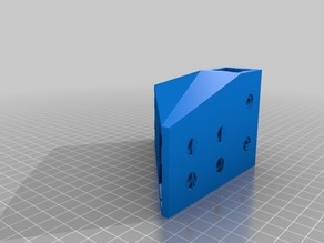 My Customized Parametric V-Slot Corner Bracket
