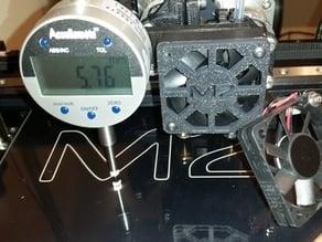 MakerGear M2 Dual Extruder Dial Indicator Mount