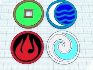 avatar elements-movie version