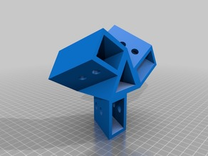 3D Printed Work Stool Parts
