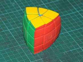 5 Layer Pentahedron - triangular prism twisty puzzle
