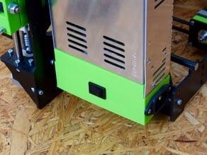 P3steel 2.x - 25A PSU cover