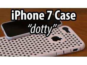 "iPhone 7 Case ""dotty"""