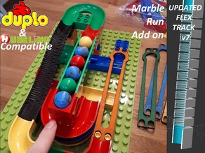 Hubelino / Duplo compatible marble run items