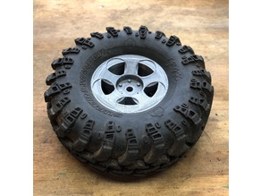 "Goodson's Hobbies 1.9 Beadlock Wheel 01 - ""Lambo"""